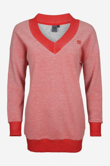 Damen Sweater Motley in Rot von Elkline