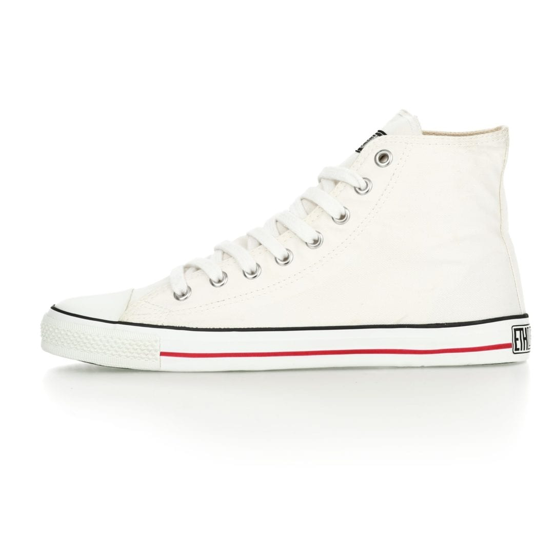 Fair Trainer White Cap Hi Cut Classic Just White Just White von Ethletic