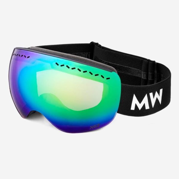 Skibrille Float Ii Xe2 Green Revo Black Unisex von MessyWeekend