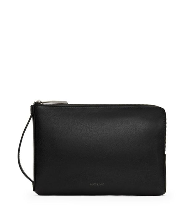 Seva Large Faire Brieftasche Black von Matt & Natt