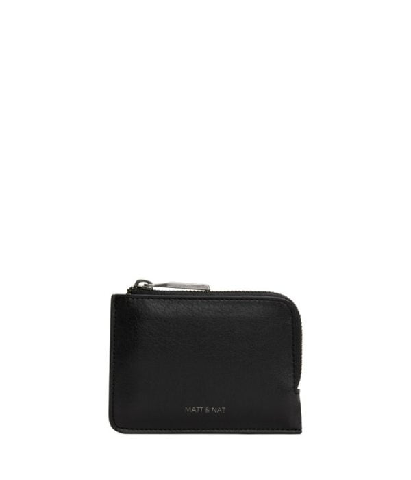 Seva Small Vegane Brieftasche Black von Matt & Natt