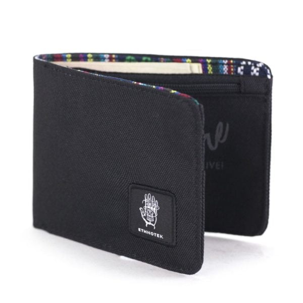 Ketat Slim Wallet Eco Black von Ethnotek
